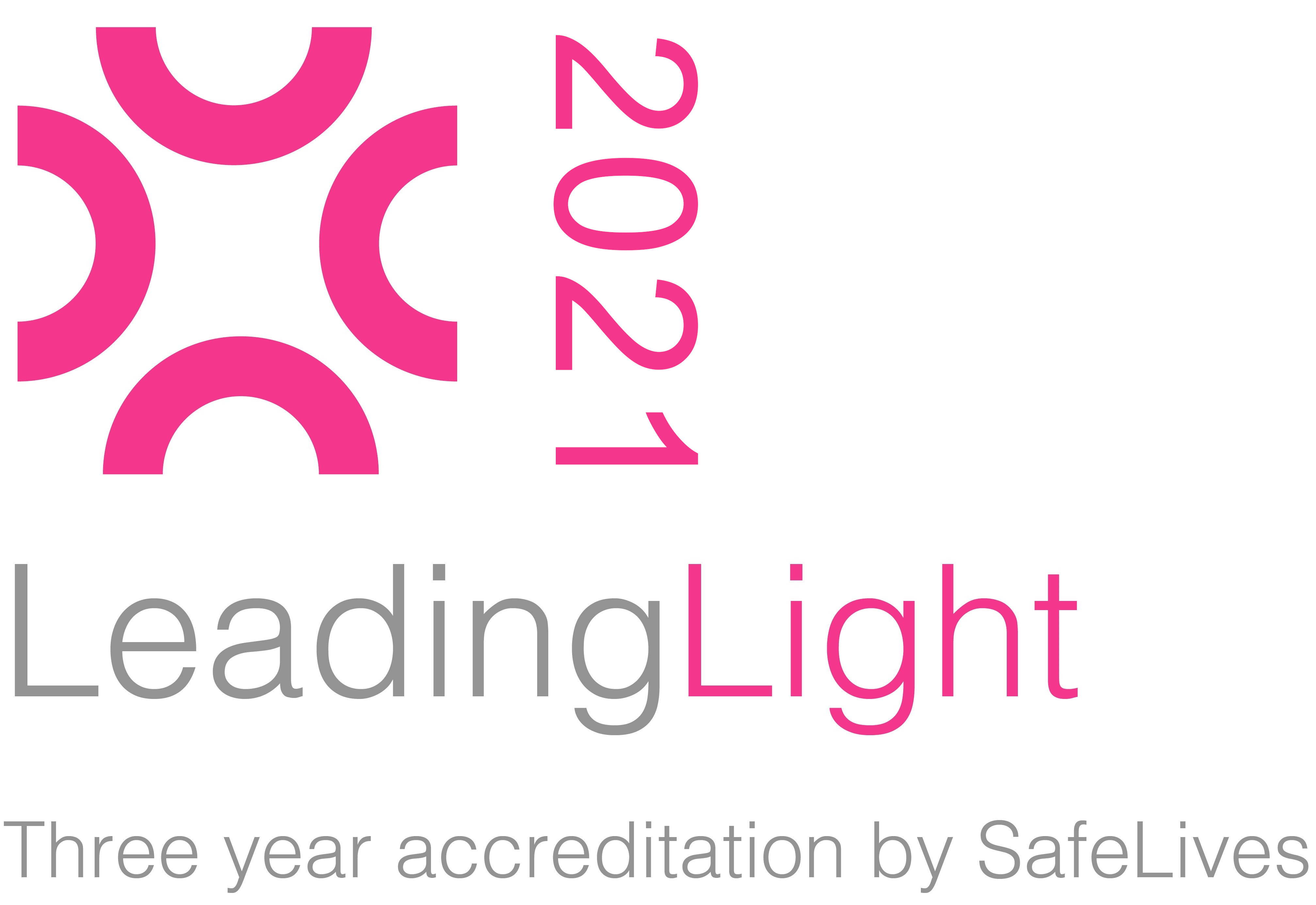 Leading Light Accreditation Logo 2021